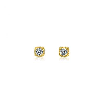 Gold Sophie Stud Earrings