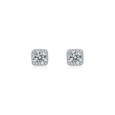 Silver Sophie Stud Earrings