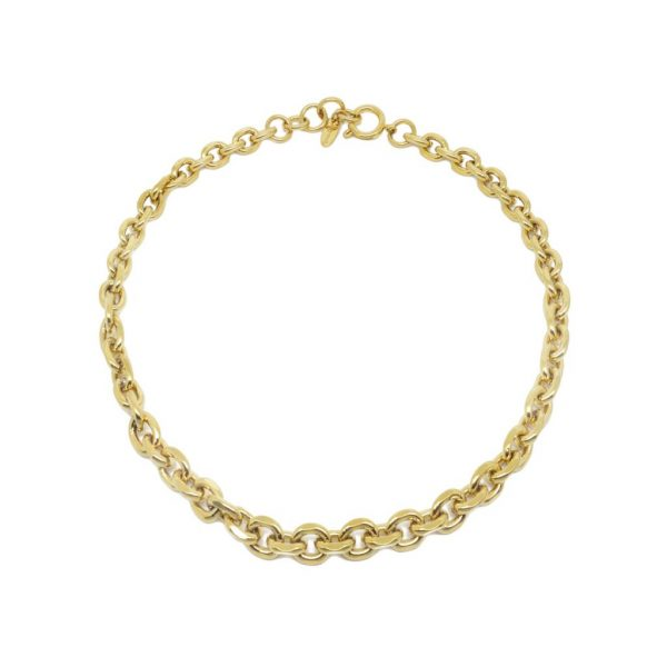 Gold Chunky Chain Choker