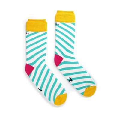 Yer Man Socks side