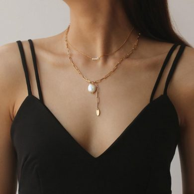 freshwater five pearl necklace