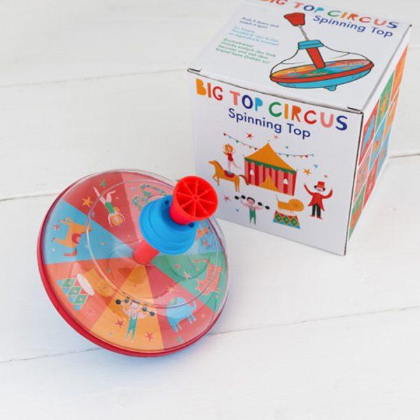 Big Top Circus Spinning Top Lifestyle