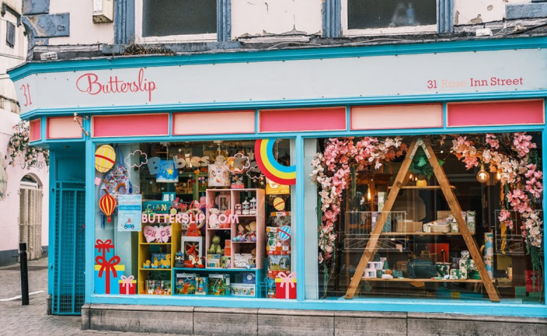 Butterslip gift shop