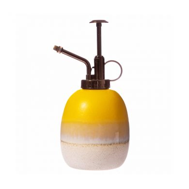 Mojave Glaze Yellow Ceramic Mister