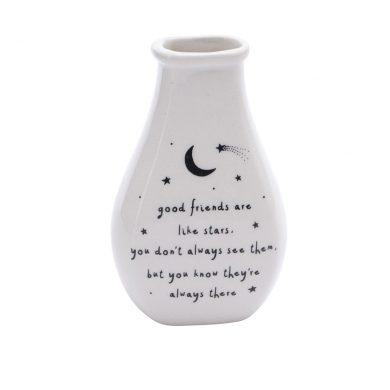 best friends bud vase