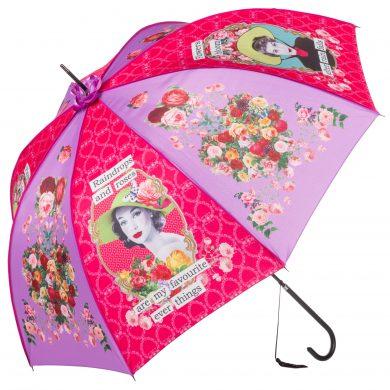Darling Divas – Raindrops and Roses Boutique Umbrella