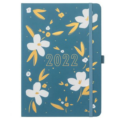A5 Teal To Do Diary 2022 Cover